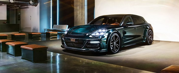 Amazing Car Wallpaper New Porsche Panamera Sport Turismo Gets Techart Grandgt