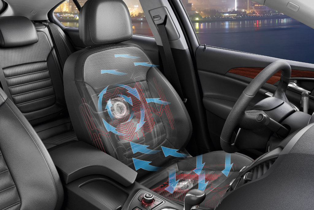 Opel Insignia Gets Agr Approved Ventilated Seats