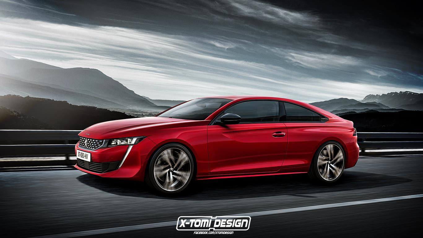Coupe Peugeot Peugeot 508 Coupe Rendering Doesn T Look As Good As Sedan