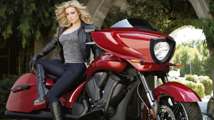 Car New Wallpaper 2013 Playboy Playmate Autographed Victory Cross Country Bike On