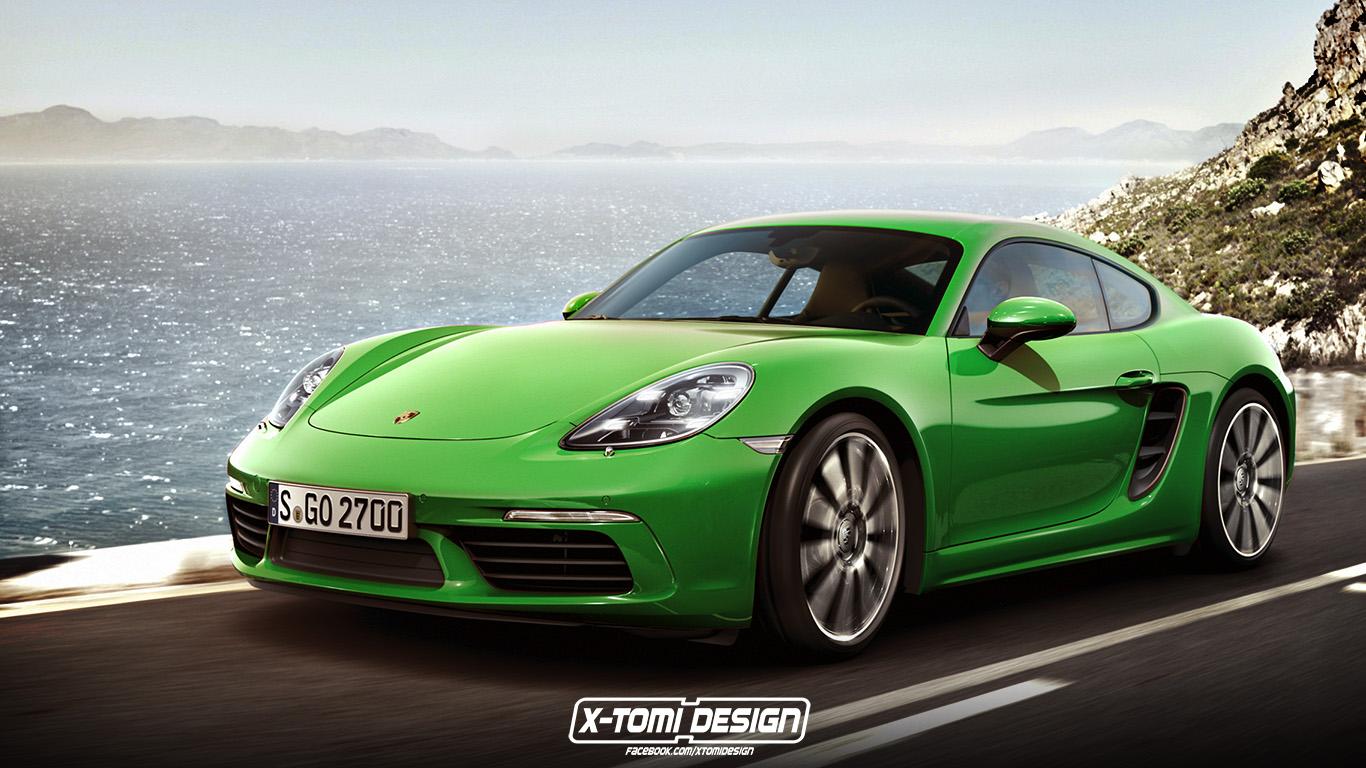 Porsche Boxster Wallpaper Hd Porsche 718 Cayman Rendering Is As Good As The Actual Car