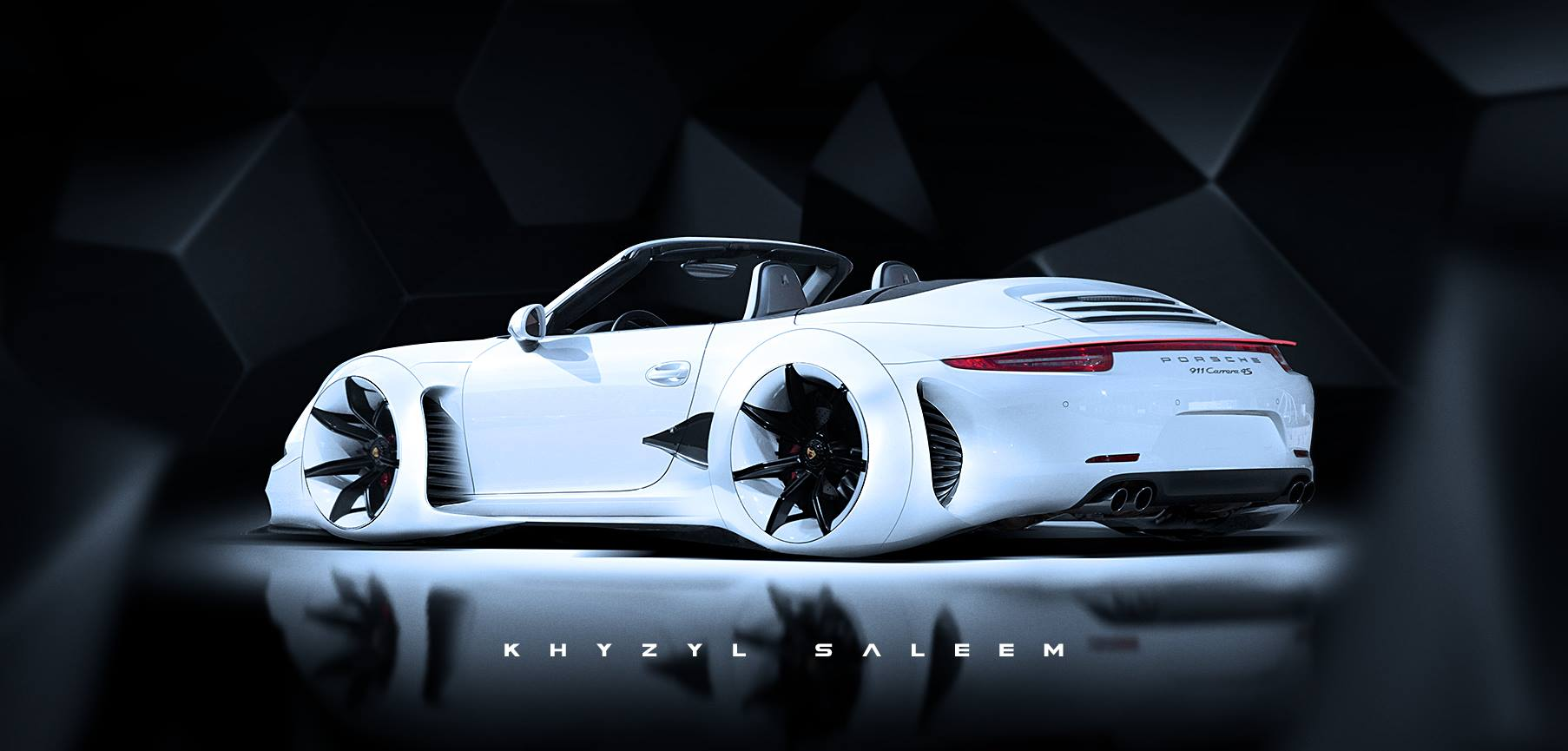Saleem Name 3d Wallpaper Porsche 911 Cabriolet Turned Into Audi Rsq Lookalike That