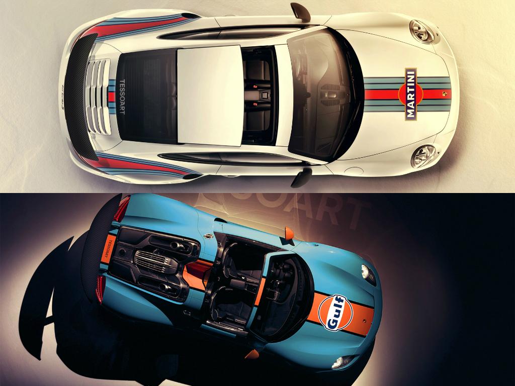 Blue Racing Car Wallpaper Porsche Livery Battle Gulf 918 Spyder Or Martini 911