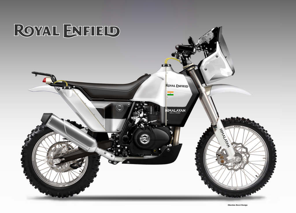 Bullet 350 Hd Wallpaper Royal Enfield Himalayan Rally Raid Rendering Has Us