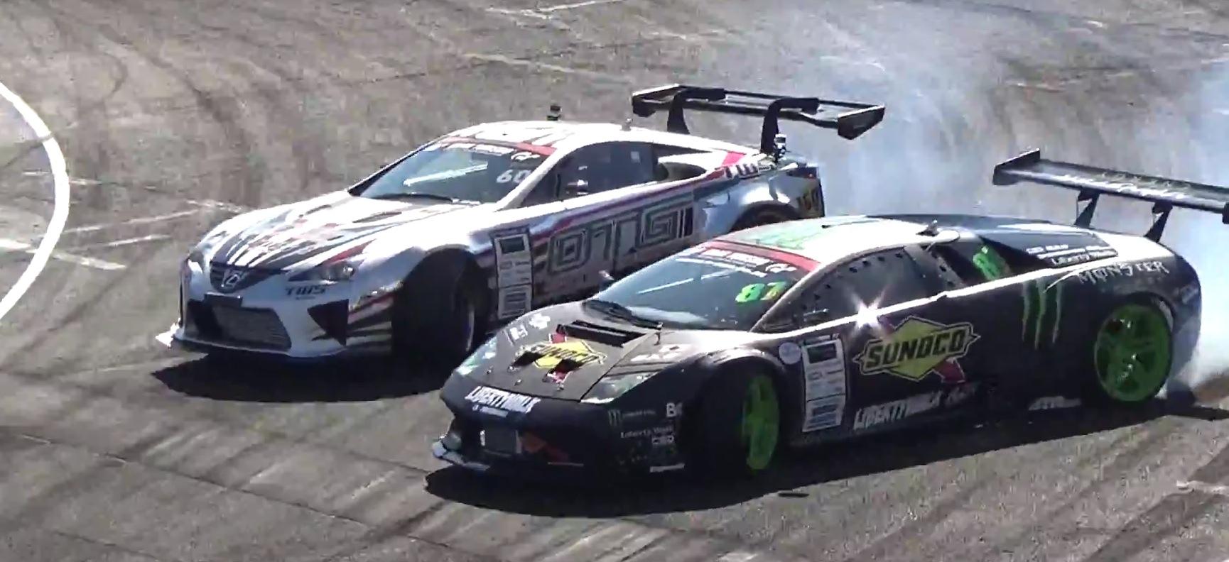 Ken Block Cars Wallpaper See The First Drifting Lamborghini Murcielago Compete