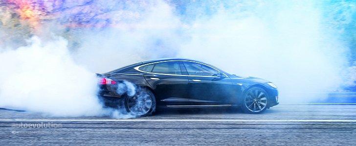 Black Metallic Wallpaper Tesla Model S Gains P90d Variant Amp Ludicrous Mode New