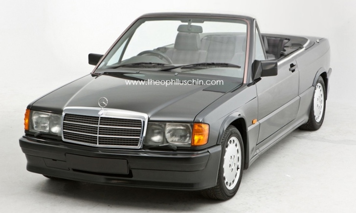 Baby Model Stuttgart The Mercedes Benz 190 E W201 Cabrio That Never Existed