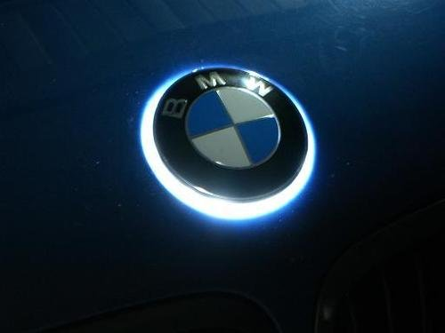 How To Put A Wallpaper On Your Car The Ultimate Aftermarket Part White Led Bmw Badge