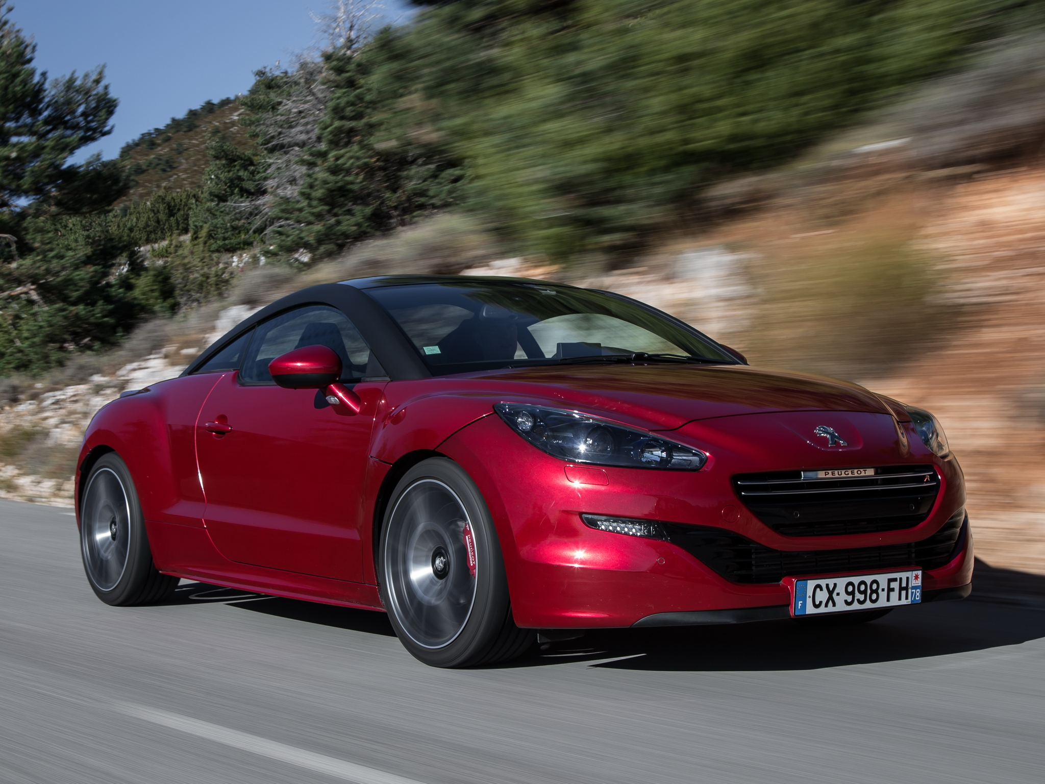 Peugeot Rcz Interieur Top Speed Run In Peugeot Rcz R Proves The French Still Make Cool