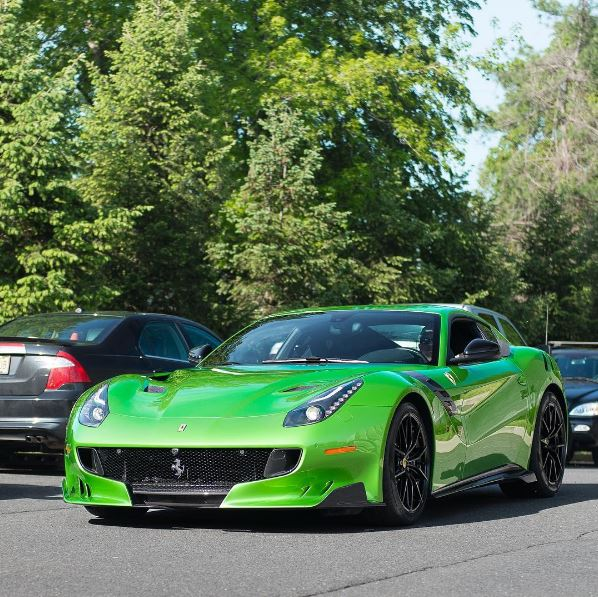 Cars Wallpaper With Names Verde Kers Lucido Ferrari F12 Tdf Is Rosso Corsa Fans