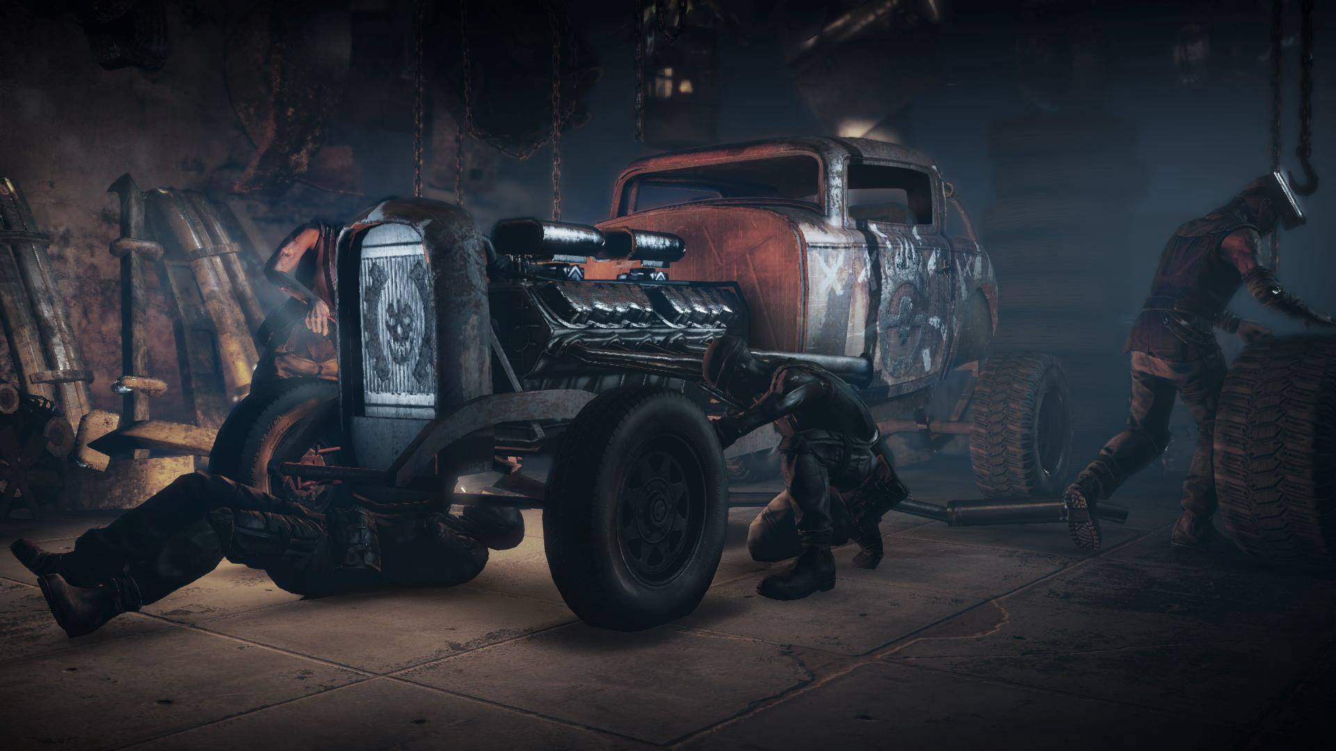 Car Tire With Wrench Wallpaper West Coast Customs Builds A Real Mad Max Car Autoevolution