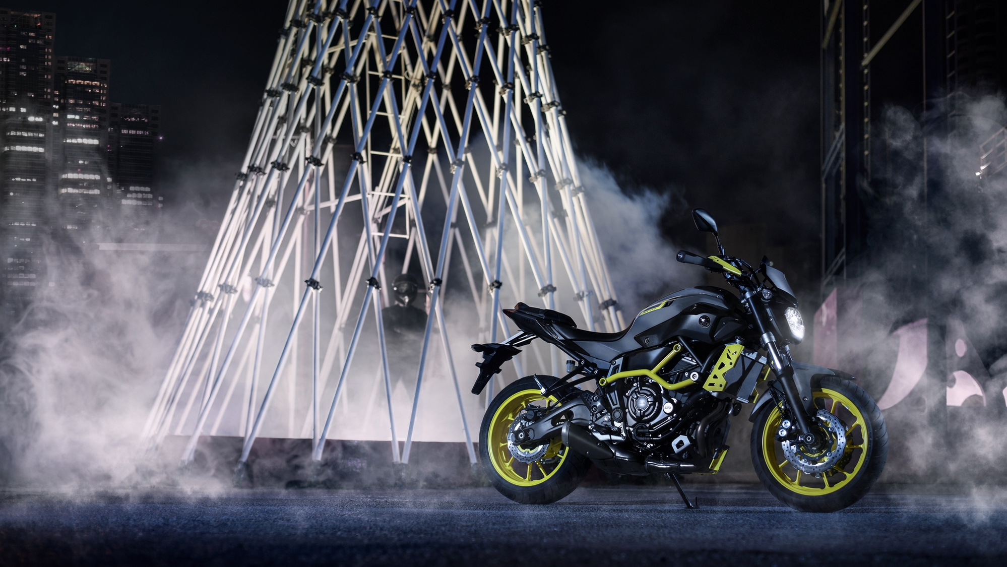 3d Yamaha Motorcycle Wallpaper Yamaha Adds Night Fluo To More Mt Bikes Shows The Mt 07