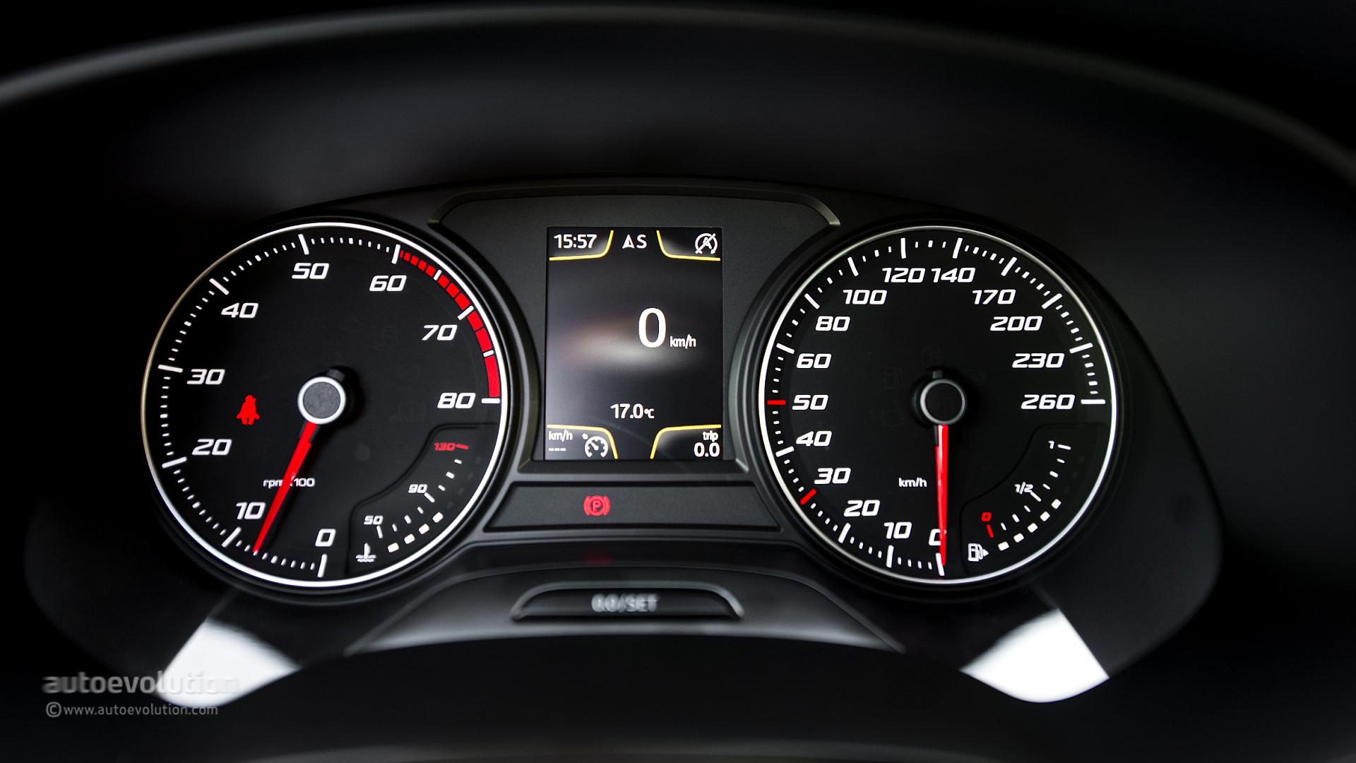 Car Dashboard Wallpaper Seat Leon Sc Review Autoevolution