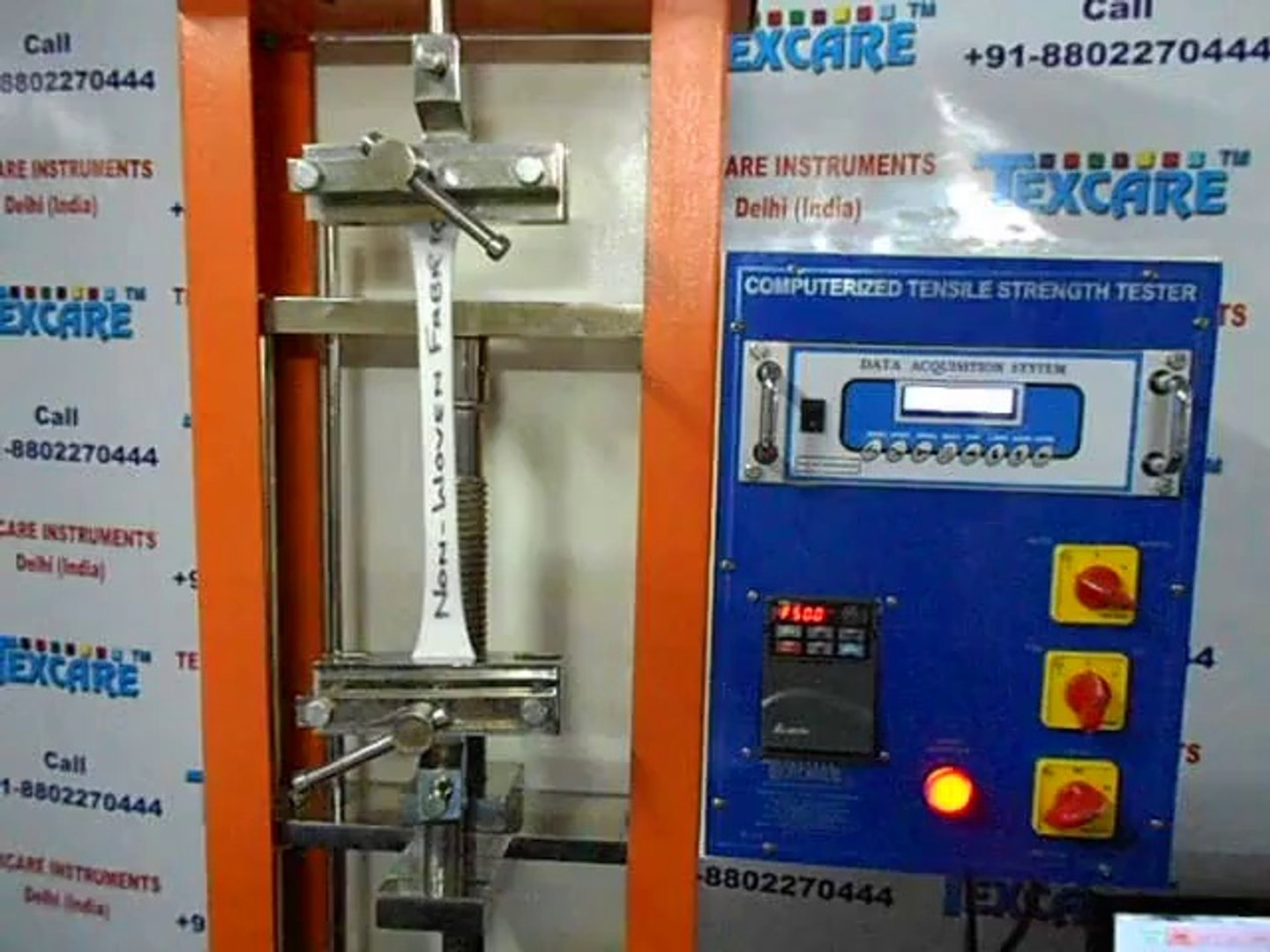 China Fabric Suppliers In Delhi Non Woven Fabric Tensile Strength Tester Manufacturers