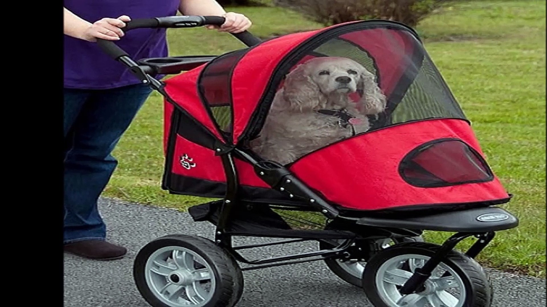 Triple Pet Stroller Pet Strollers For Dogs