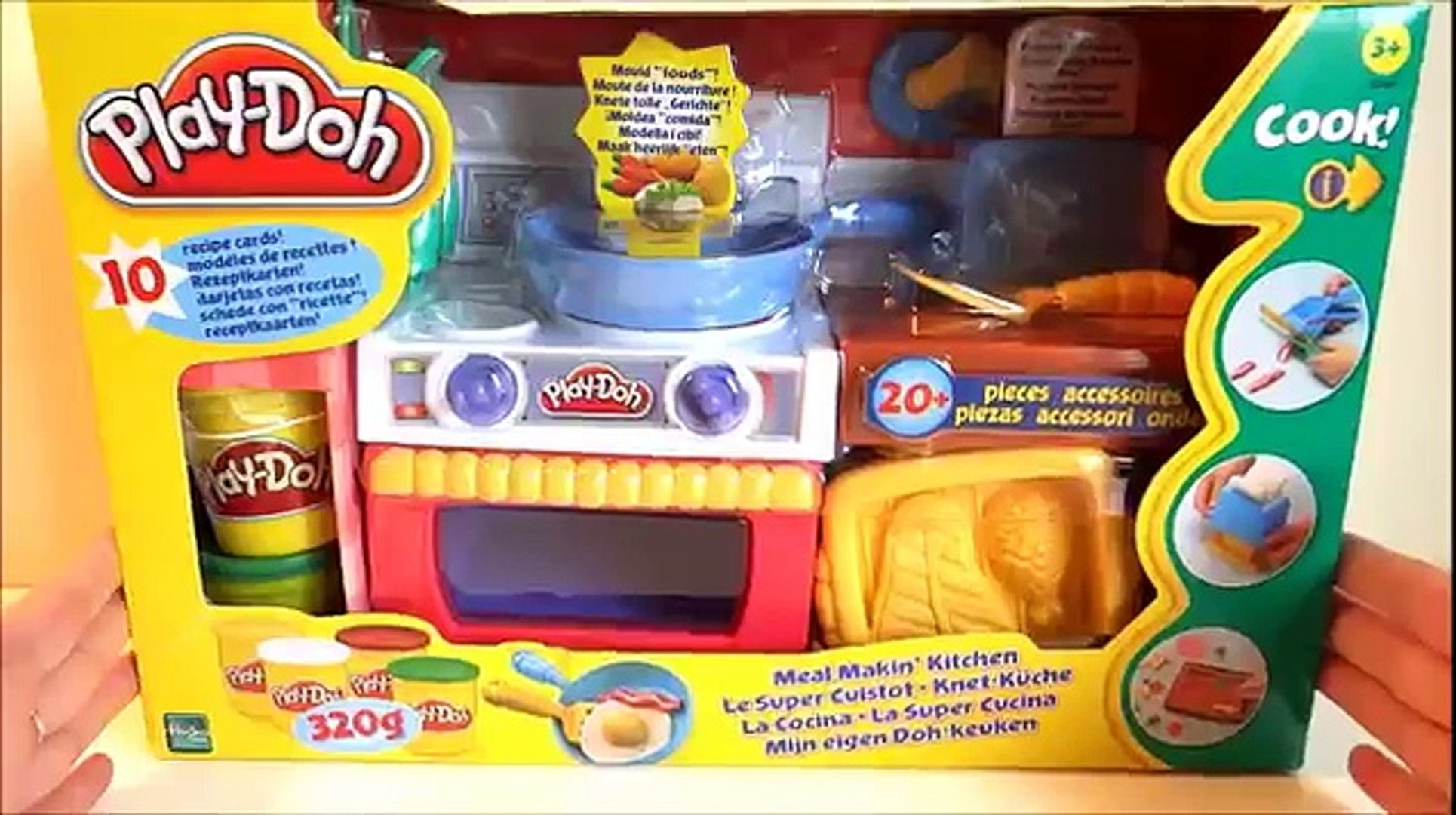 Play Doh Knet Küche Play Doh Meal Makin Kitchen