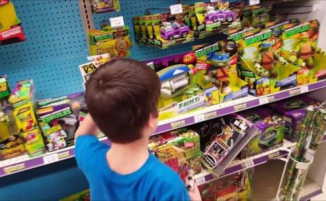 Kid Temper Tantrum At Toys R Us Original Video