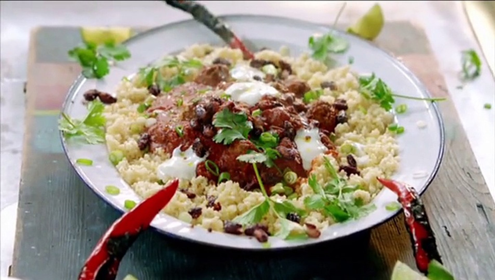 Jamie Oliver 15 Min Küche Jamie Oliver S 15 Minute Meals S01e01 Chilli Con Carne Meatballs