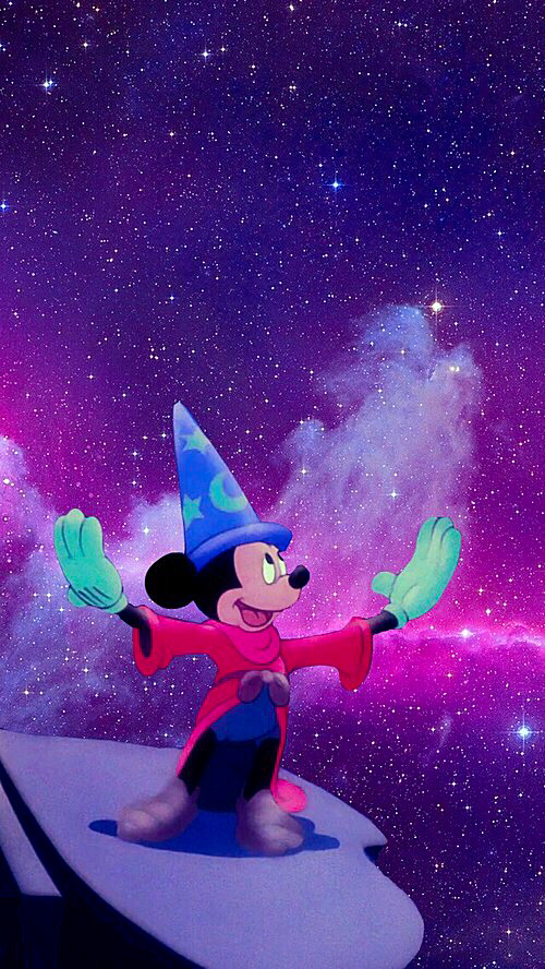 Tapisserie Mickey Savon, Disney, Galaxie, Mickey Mouse, Tapisserie - Image