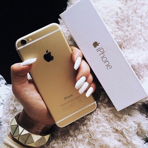 Iphone 6s Wallpaper Fall Cute Goals Gold Iphone Nails Tumblr White Iphone 6