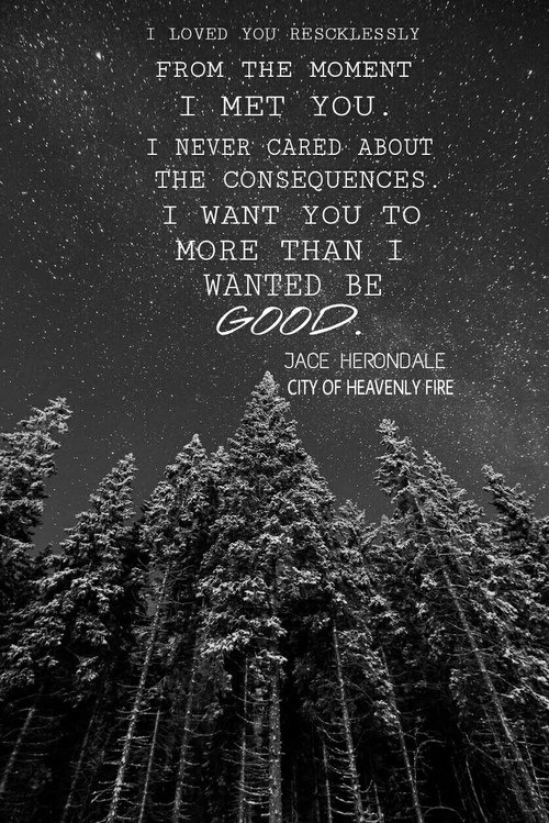 Beautiful Sad Quotes Wallpaper Book Cassandra Clare Clary Fray Fandom Jace Herondale