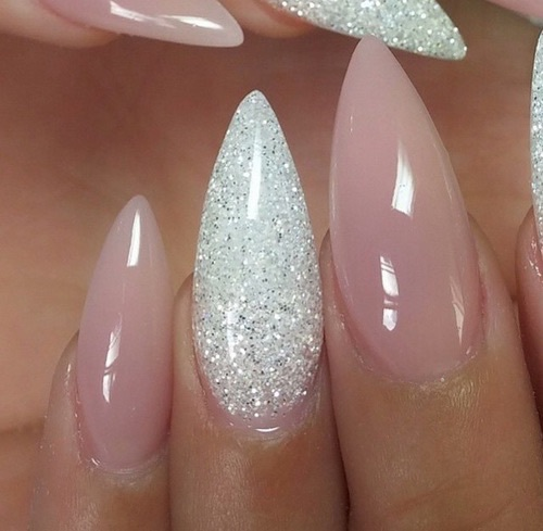 Sad Girl With Rose Wallpaper Glitter Nails Pink Pretty Rosa Spitze N 228 Gel Image
