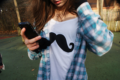 How To Put A Gif As Your Wallpaper On Iphone Girl Mustache Sedentarismoalternativo T Shirt Image