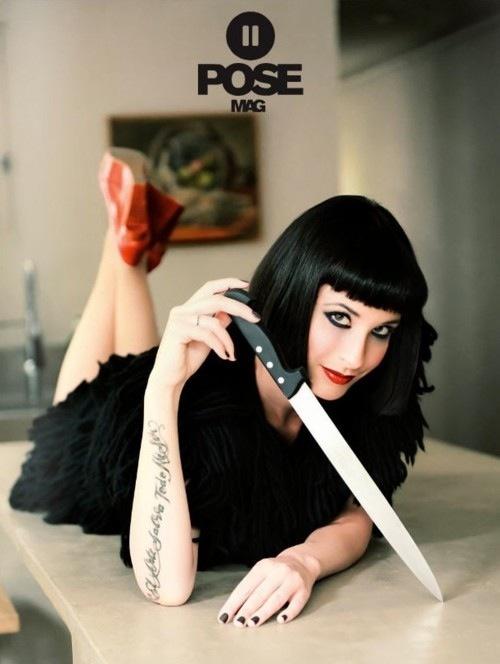 Goth Girl Wallpaper Bangs Black Black Hair Fringe Hair Image 157125 On