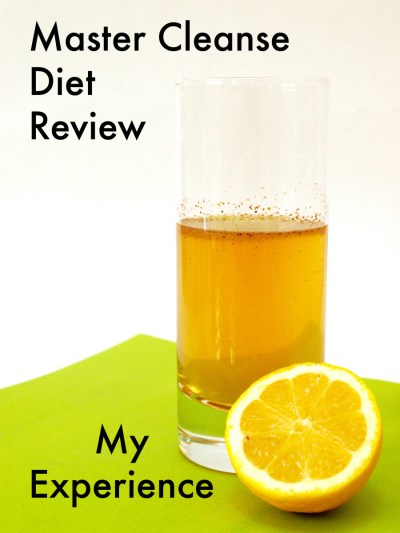 Master Cleanse Diet Results