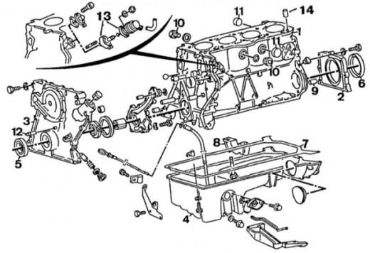 simple petrol engine diagram