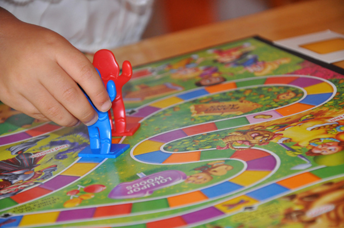 Juegos De Mesa Simples Board Games For 3- To 8-year Old Children