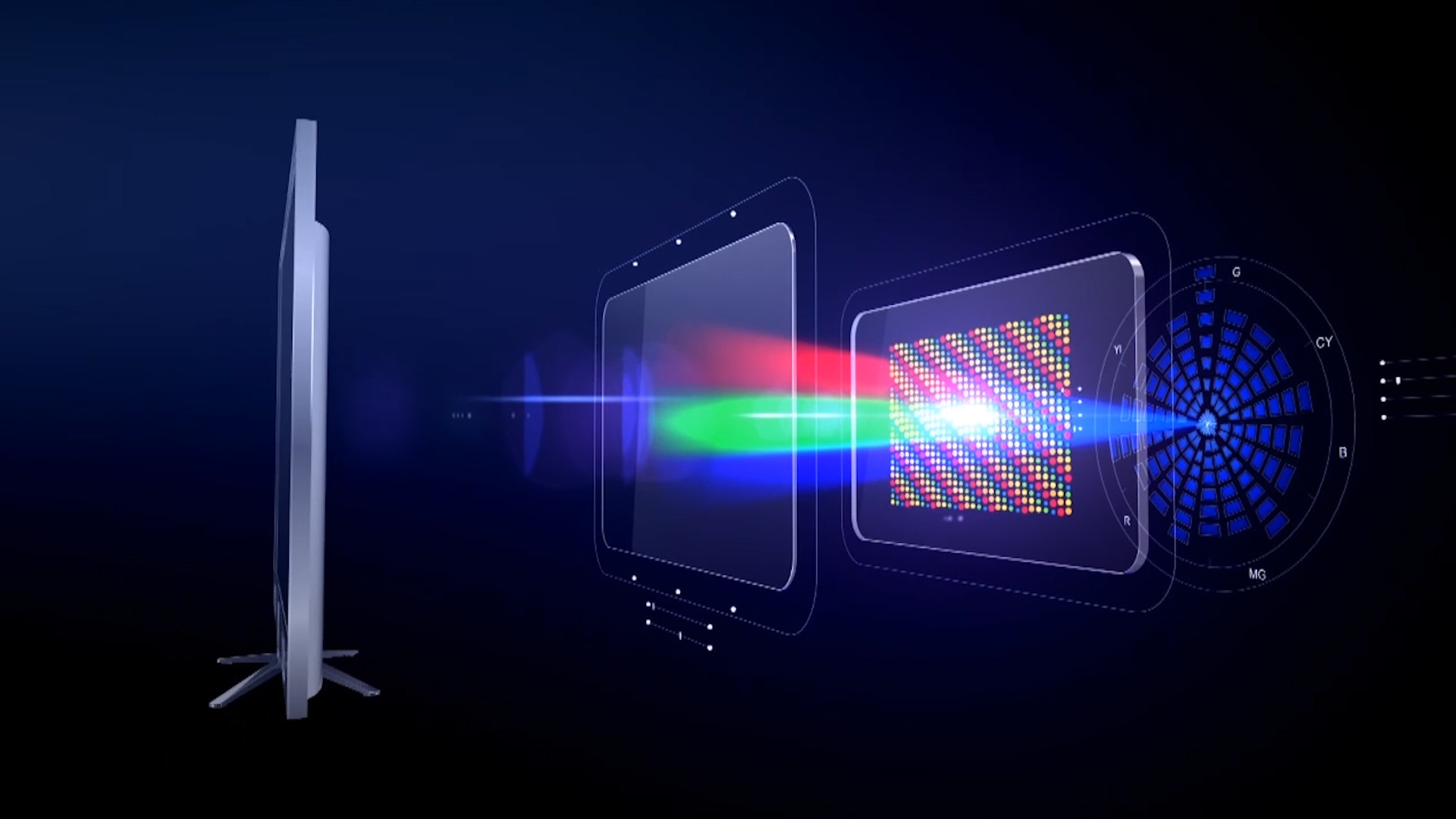 Lifelike 3d Wallpaper Quantum Dots Promise Cheaper 4k Tvs But Are They Really