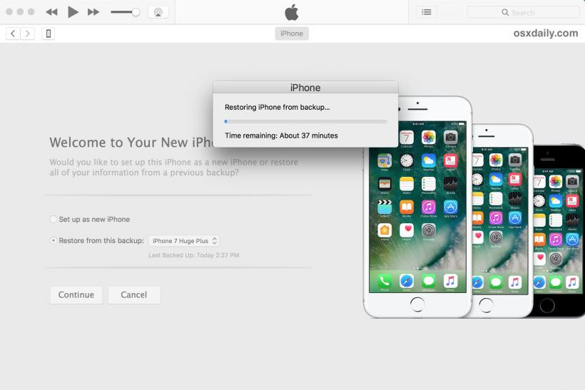 iPhone X Restore Backup Problems How To Fix Beta Issues, Other Errors