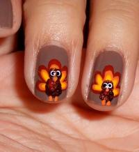 DIY Nail Art Thanksgiving 2013: Festive Designs For Your ...