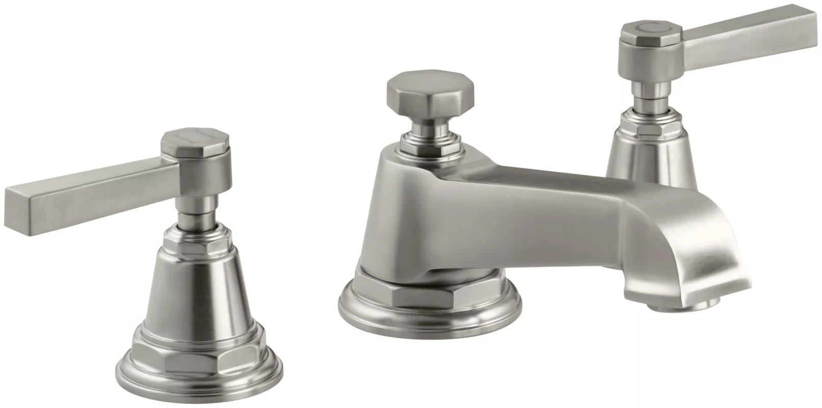 Brushed Nickel Bathroom Faucets Clearance Faucet K 13132 4a Bn In Brushed Nickel By Kohler