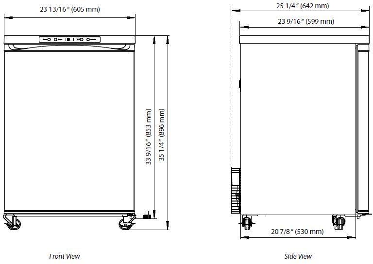 EdgeStar Full Size Triple Tap Kegerator with Digital Display