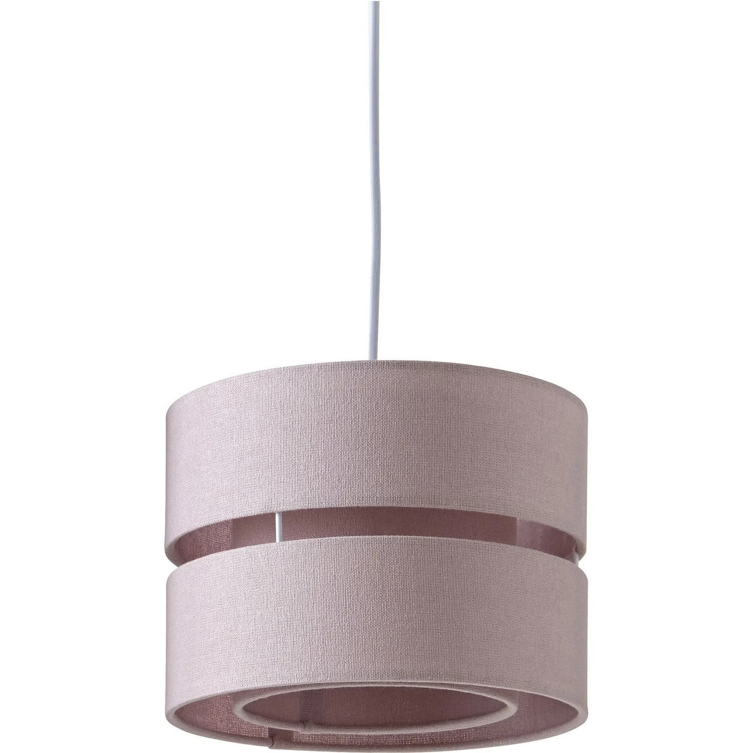 Suspension Lin Suspension E14 Scandinave Sheffield Lin Rose 1 X 40 W