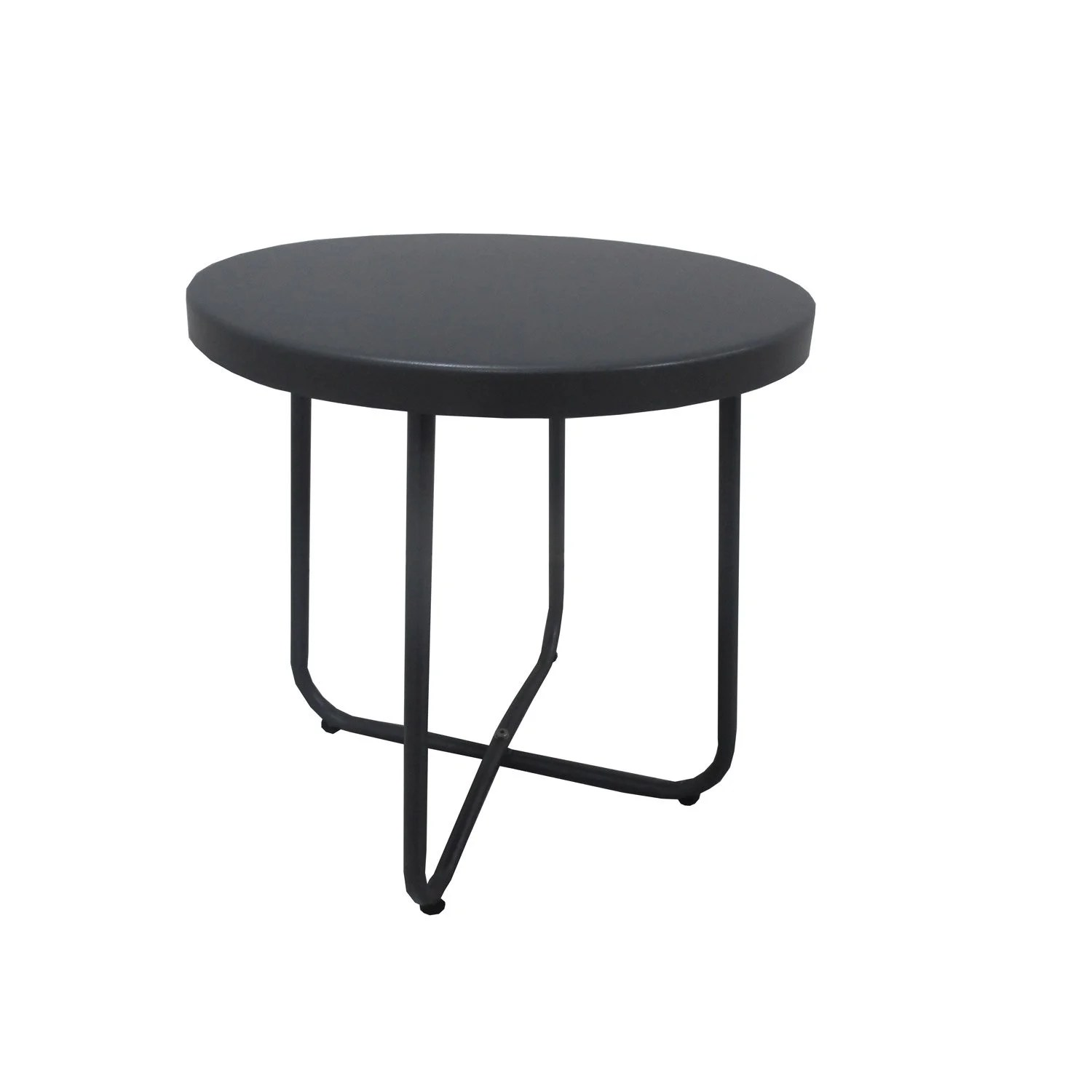 Table Exterieur 2 Personnes Table De Jardin Bombay Ronde Anthracite 2 Personnes