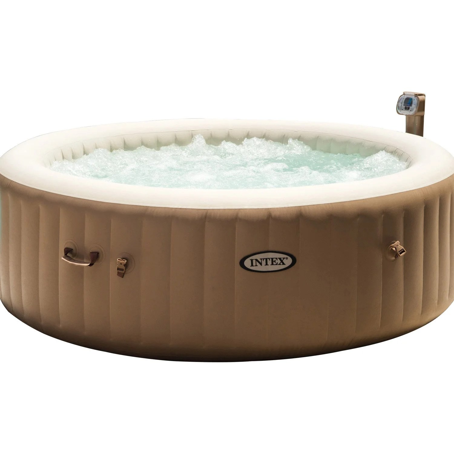 Spa Exterieur La Rochelle Spa Gonflable Intex Pure Spa Bulles Rond 6 Places Assises