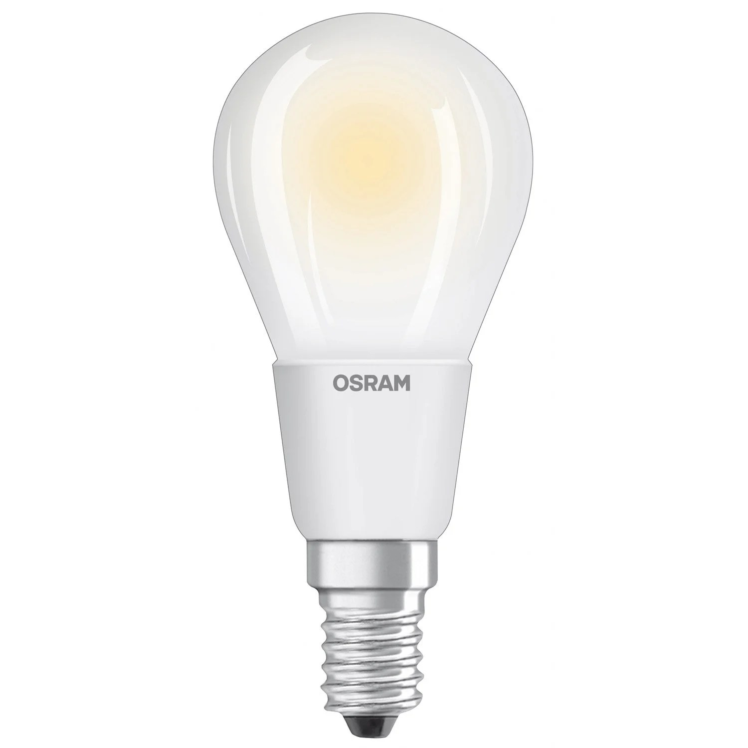 Dimbare Led Spots Dimbare Led Lamp E14 5w Round 470lm Equiv 40w 2700k Osram