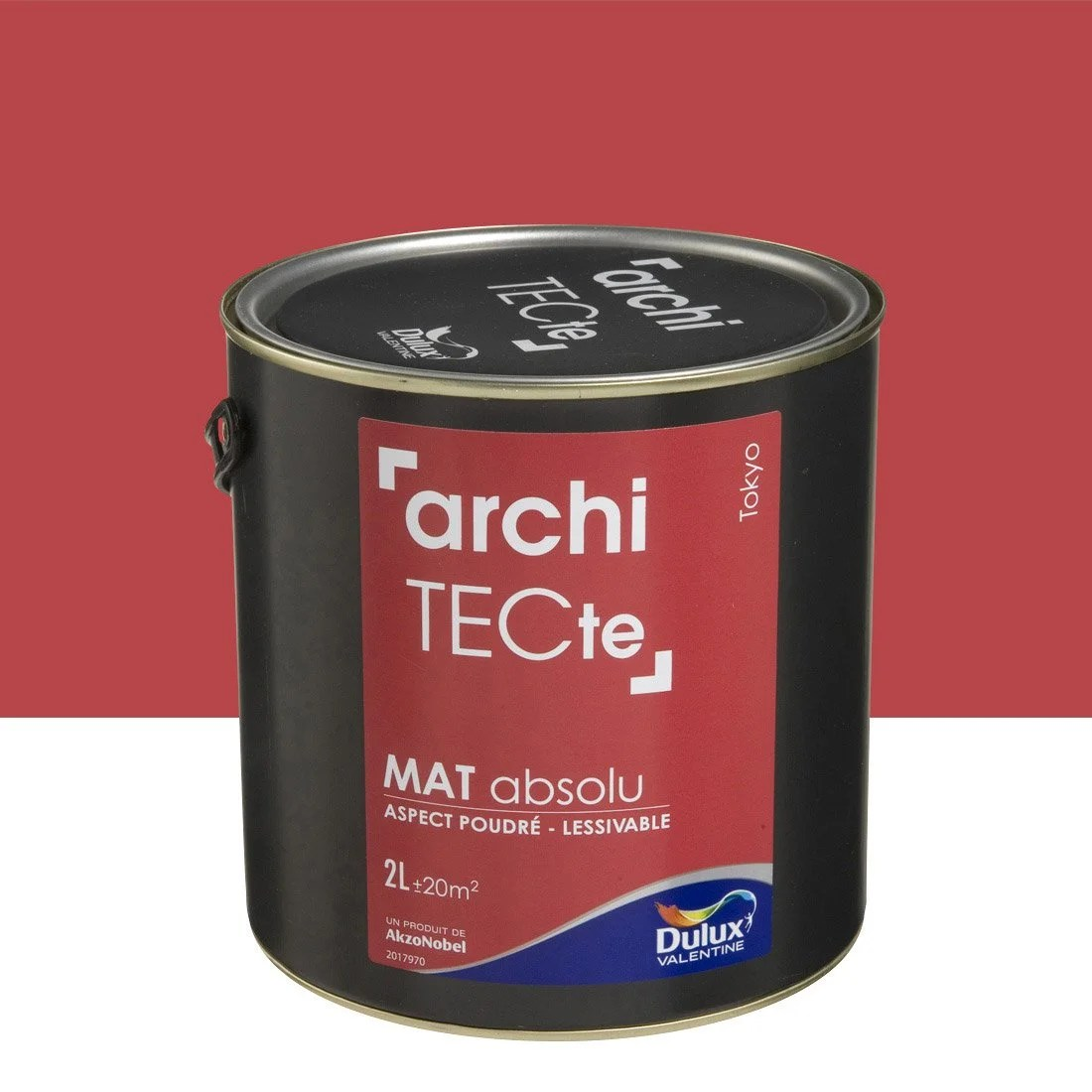 Peinture Carrelage Rouge Top Finest Interesting Peinture Rouge Tokyo Dulux