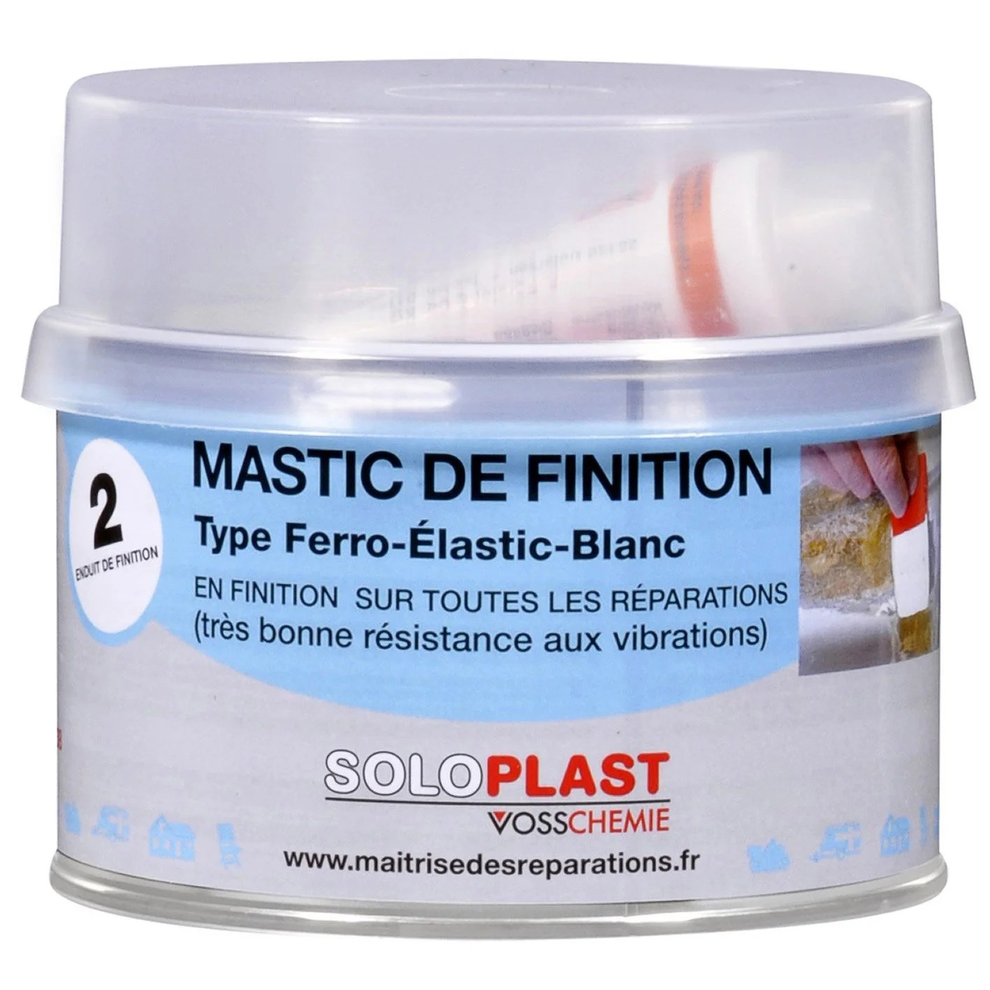 Gelcoat De Finition Leroy Merlin Mastic Et Durcisseur Finition Few Soloplast 435 G