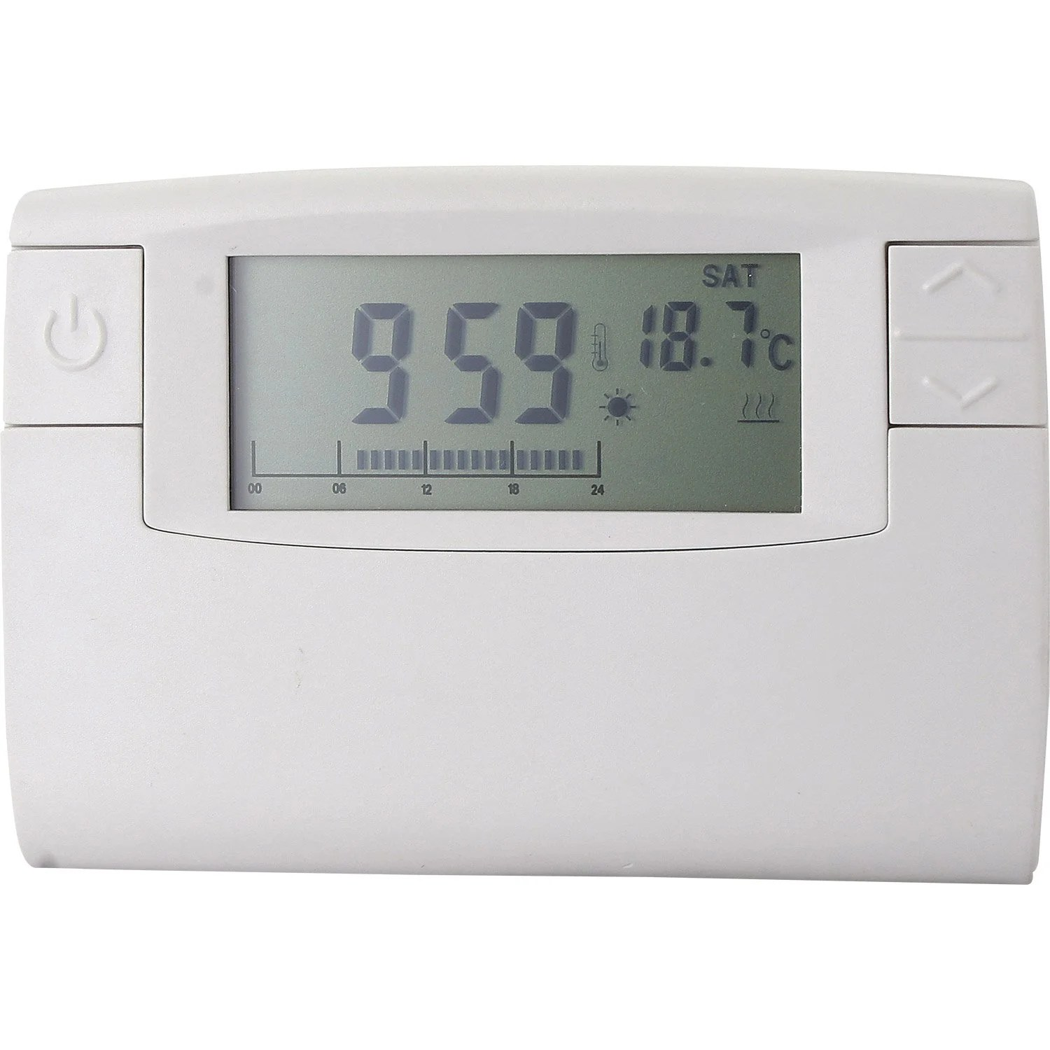 Thermostat Chaudiere Gaz Leroy Merlin Thermostat Programmable Filaire Celcia Crono 911