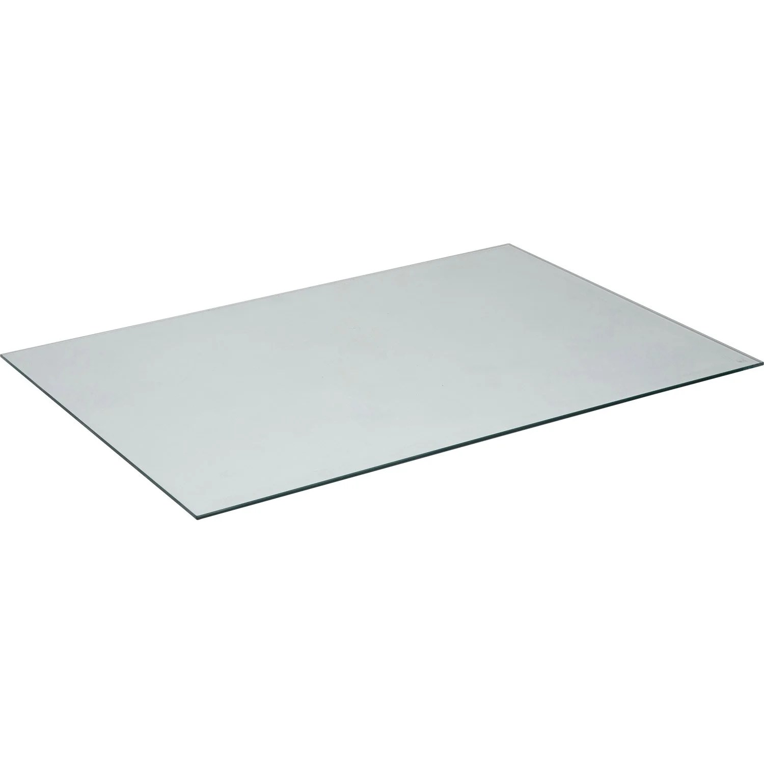 Protege Table En Verre Plateau De Table Verre L 140 X L 72 Cm X Ep 8 Mm