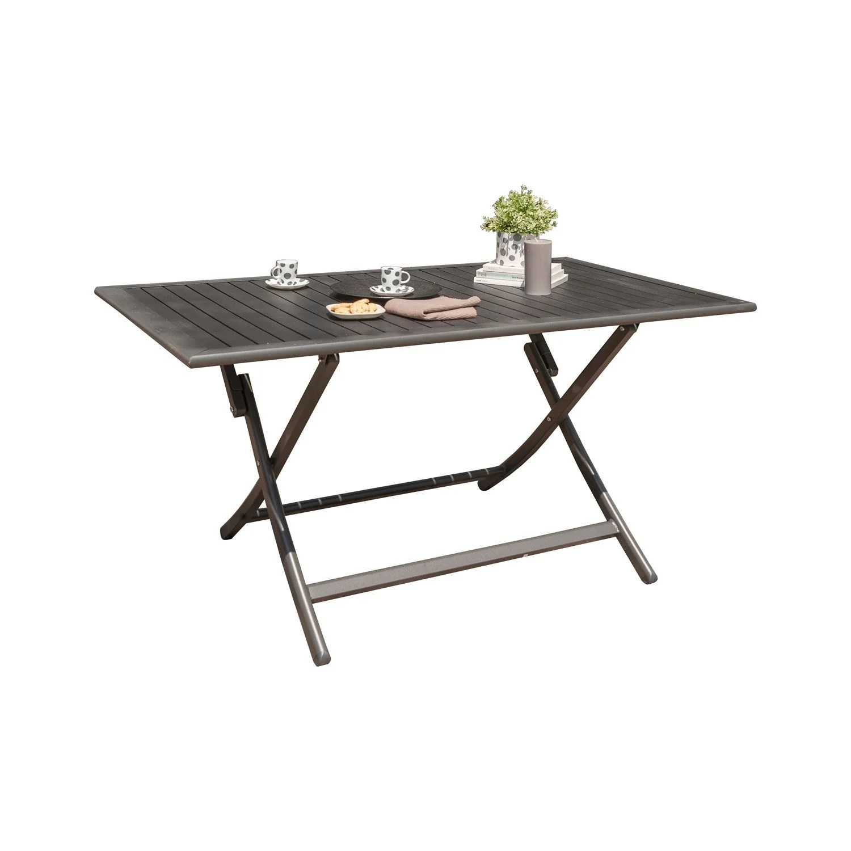 Table De Jardin Gris Anthracite | Conceptions De Salon De Jardin ...