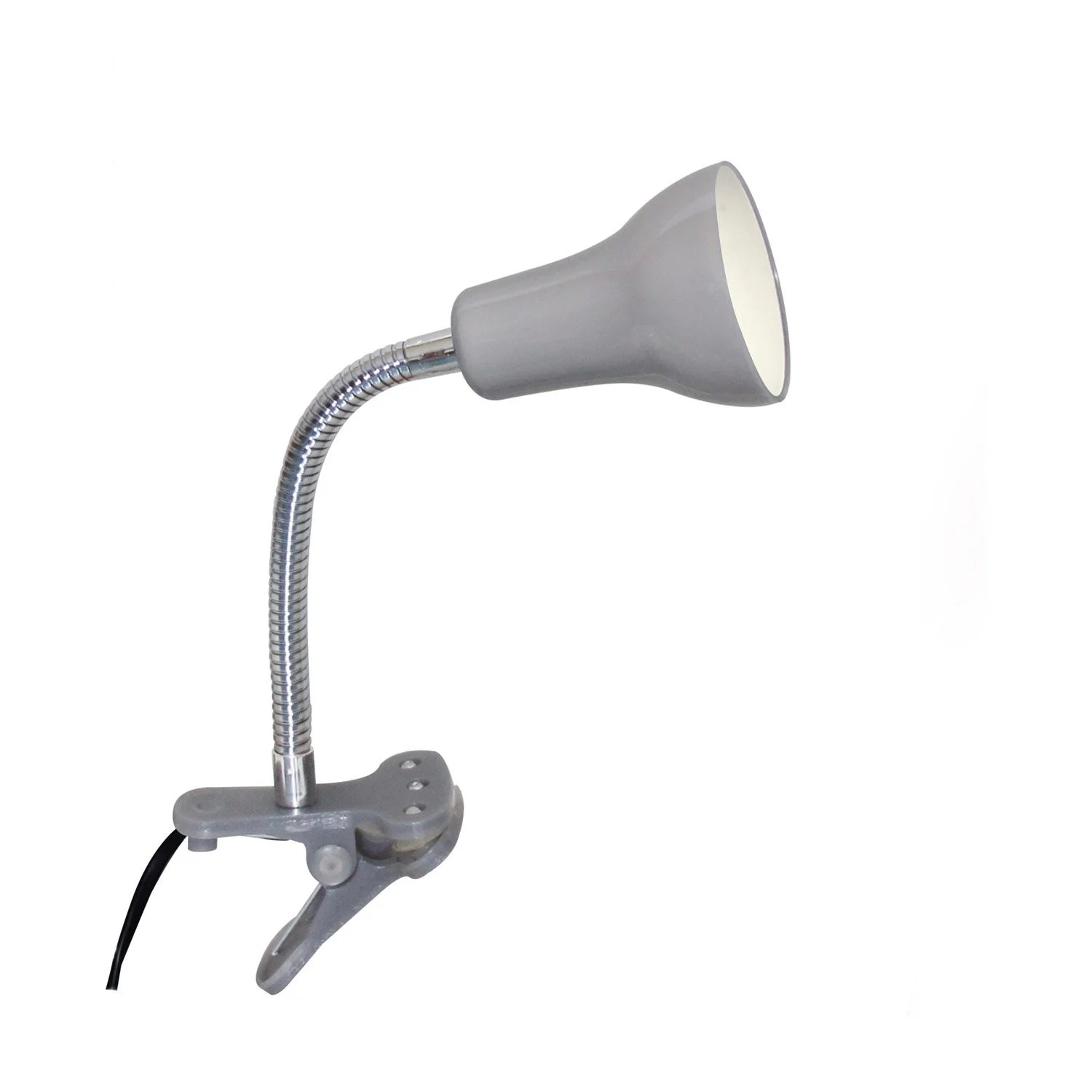 Spot Led A Pince Desk Lamp Gu10 Clip Gray Silver Led Salta Inspire