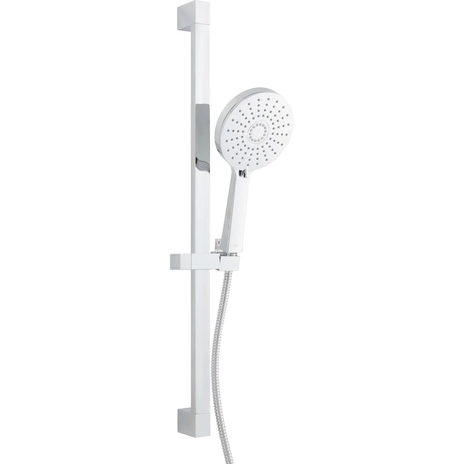 Ensemble Douche Ensemble De Douche 3 Jets Sensea City Chromé Leroy Merlin
