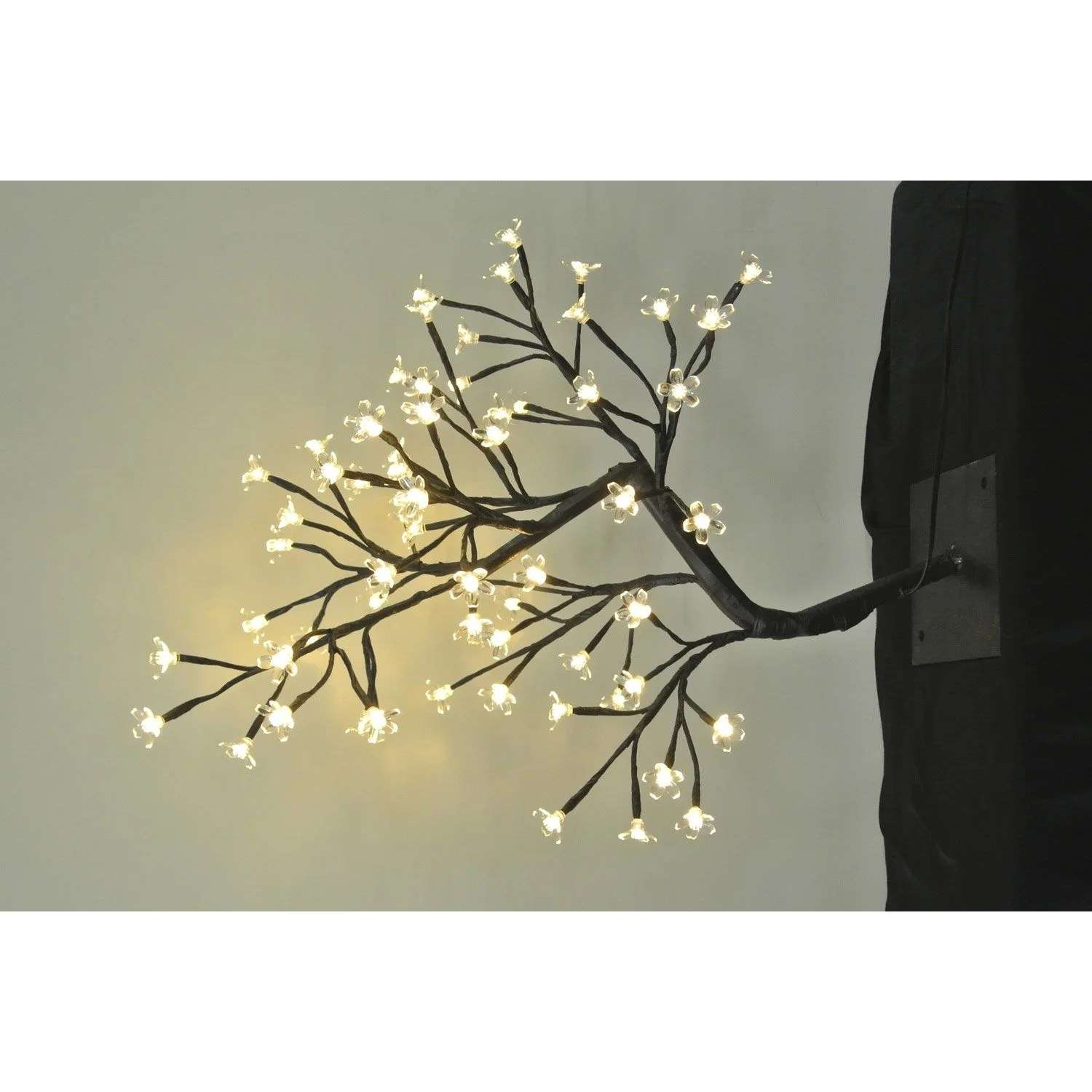 Pot Exterieur Lumineux Top Arbre Lumineux Extrieur Led Intgre Brun With Pot