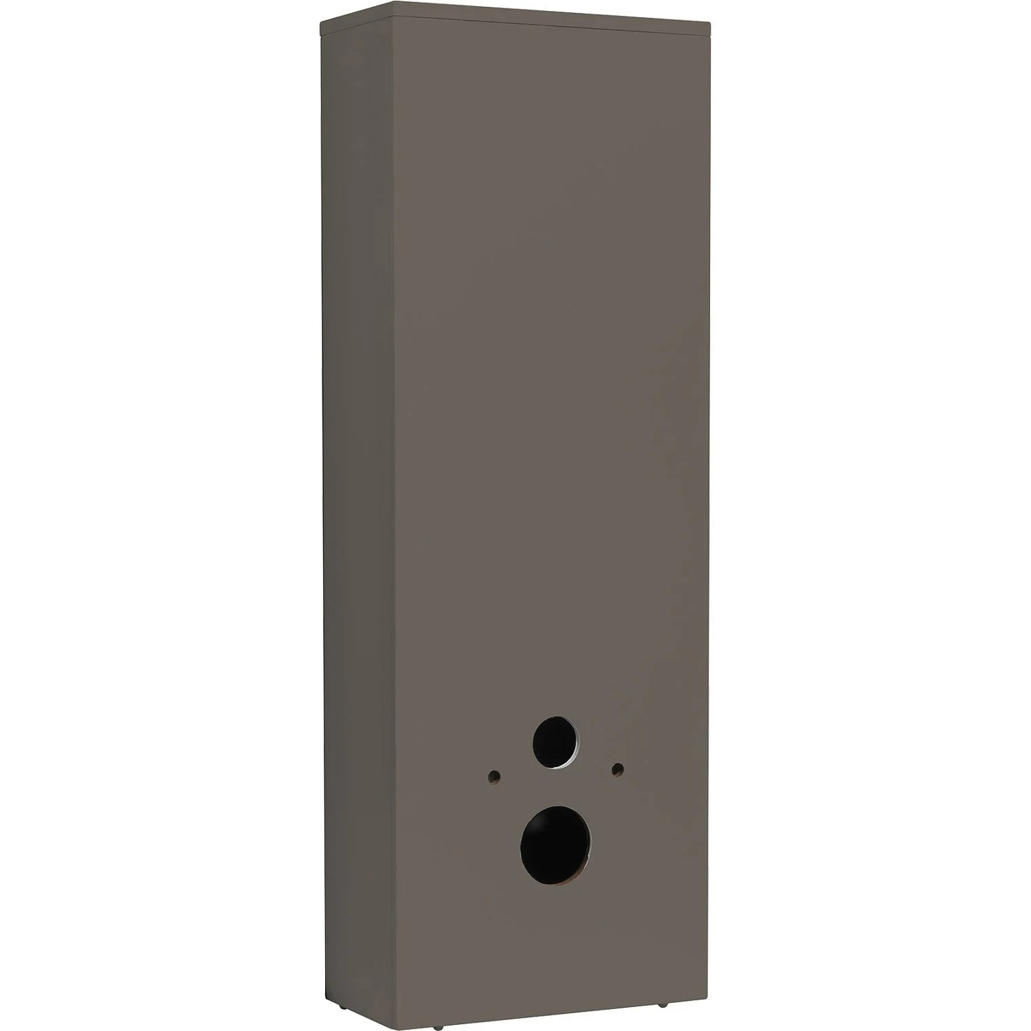 Habillage Wc Suspendu Grohe Leroy Merlin Coffrage Pour Wc Suspendu L 45 5 X H 130 6 X P 24 Cm Taupe Sensea Remix