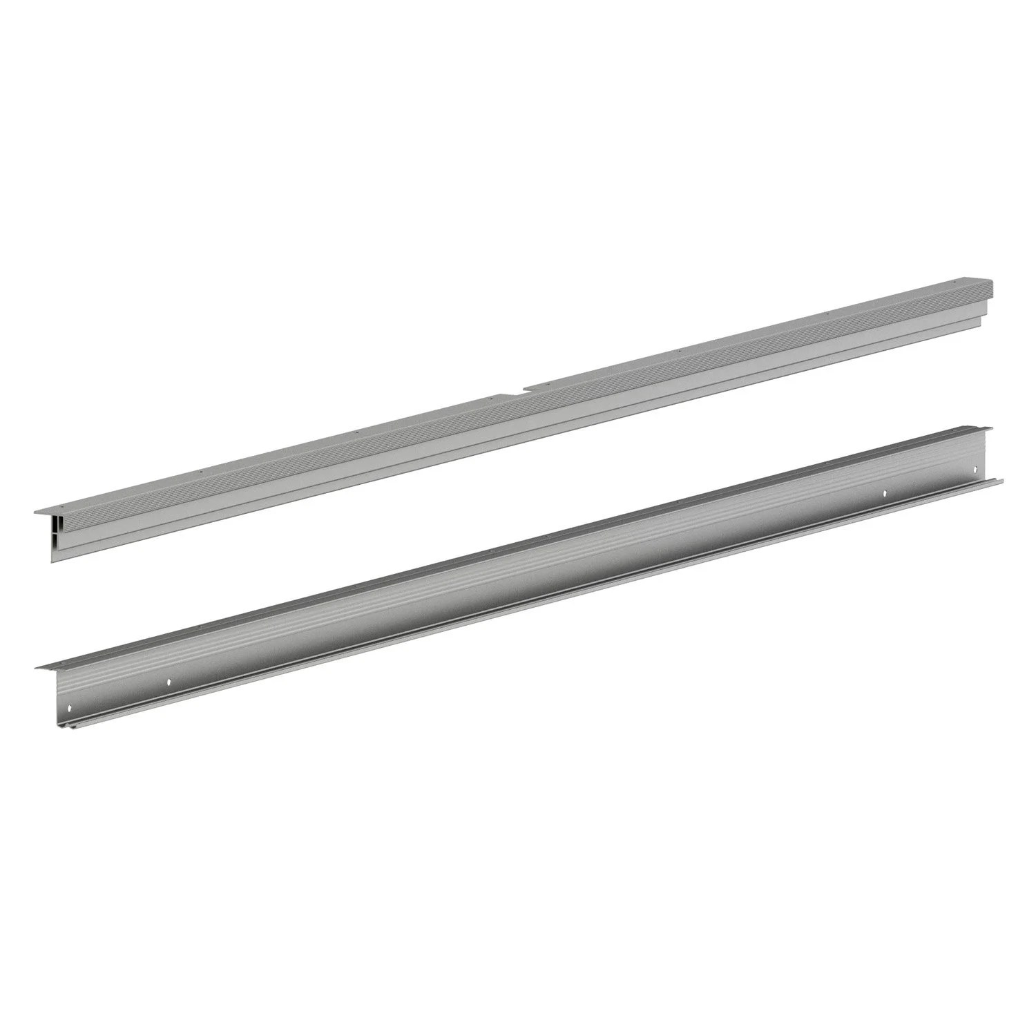 Leroy Merlin Rail Rail Coulissant Pour Porte Spaceo Home 10 X 240 X 15 Cm